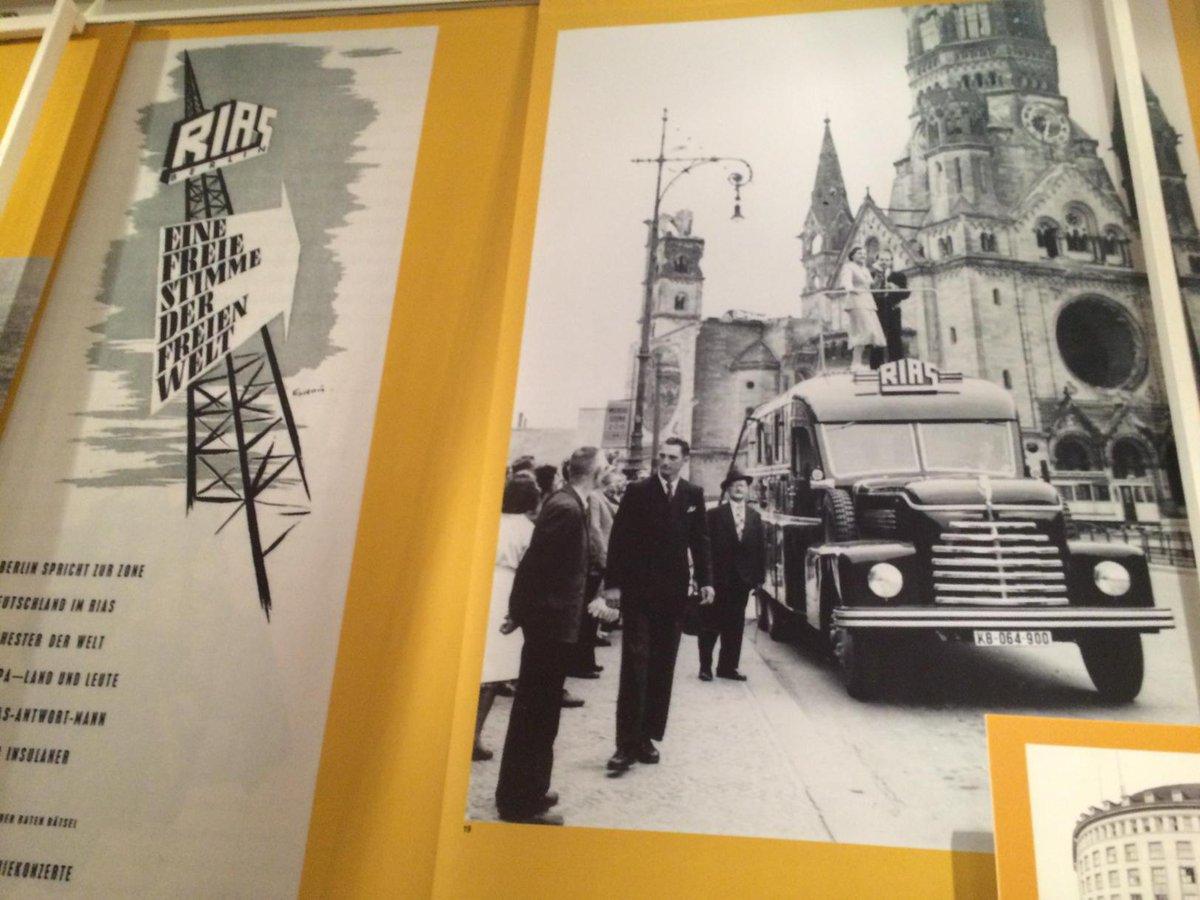 #RIASBerlin in der Ausstellung #WestBerlin im #EphraimPalais. Nur noch heute! #Berlin #Museum @_westberlin_ http://t.co/P15xUxfSeb