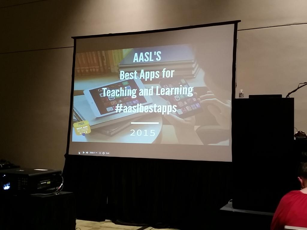 #aaslbestapps #alaac15 about to start! http://t.co/ecIm9kyOdm