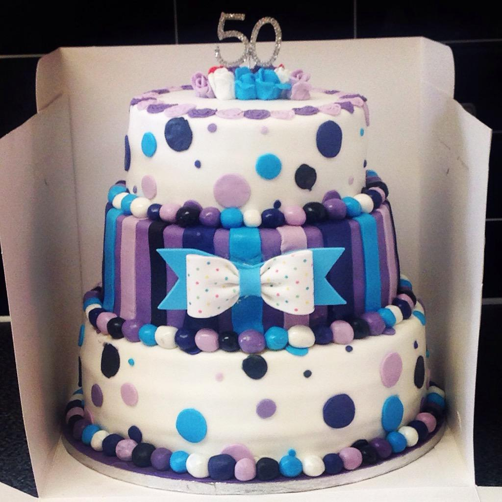 Keisha Cake On Twitter New 3 Tier 50th Birthday