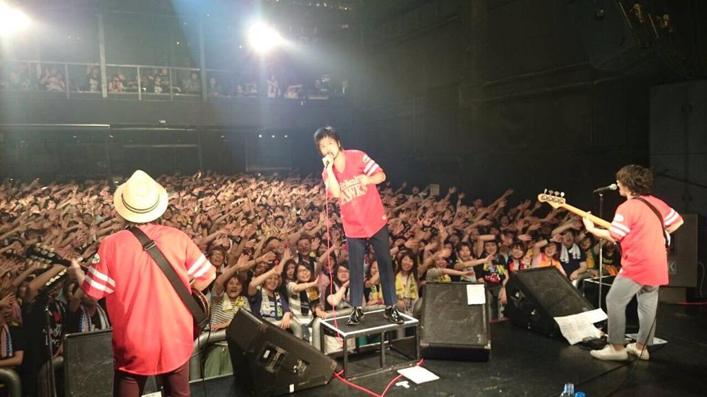 本日福岡ツアーファイナルに来てくれた皆さんありがとうございました! http://t.co/DuJqGrxV8K