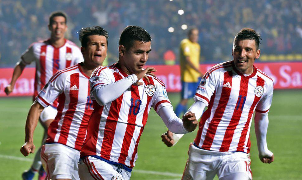 Coppa America: Brasile fuoi ai calci di rigore, Paraguay in semifinale, zio Derlis Gonzalez muore d'infarto