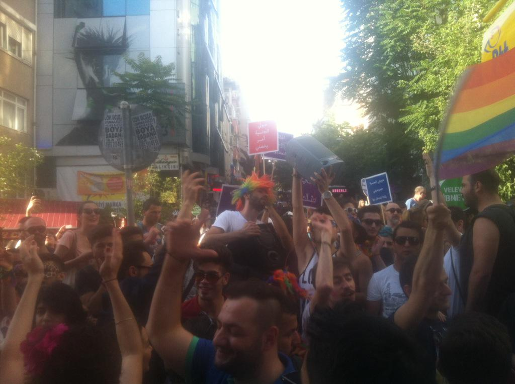 Turkey's LGBT community shaken by police crackdown on pride march