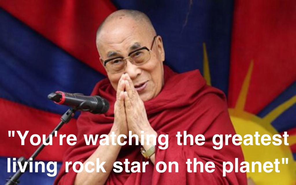 What the Dalai Lama told Glastonbury. Beautiful. #Glasto http://t.co/jVcFH8Z4TG