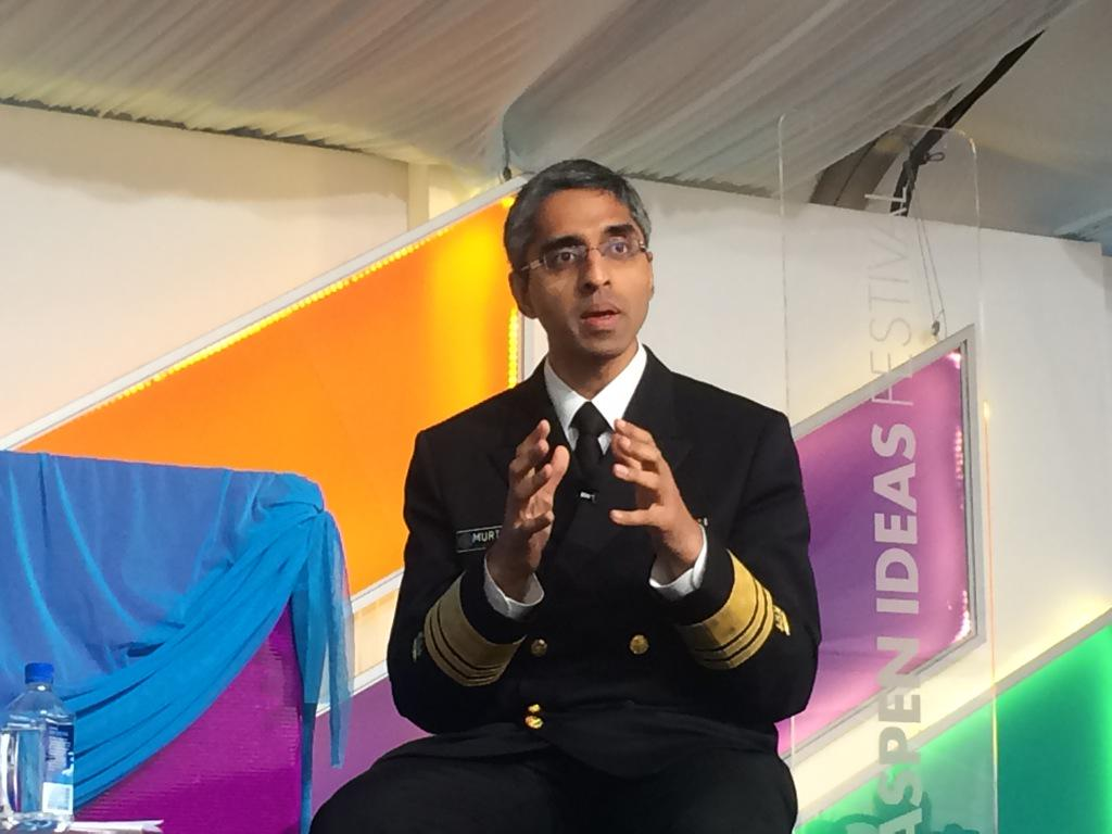 I said that gun violence is a public health issue, and I'll say it again today. - @Surgeon_General #SpotlightHealth http://t.co/A5qfJWwLG6