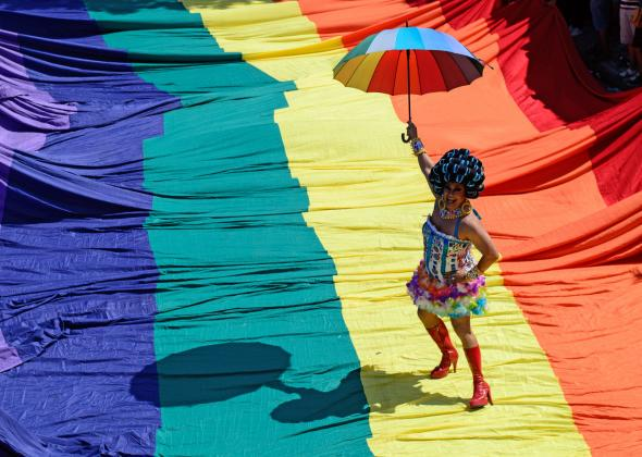 Slate On Twitter How The Rainbow Flag Became A Symbol Of The Lgbt