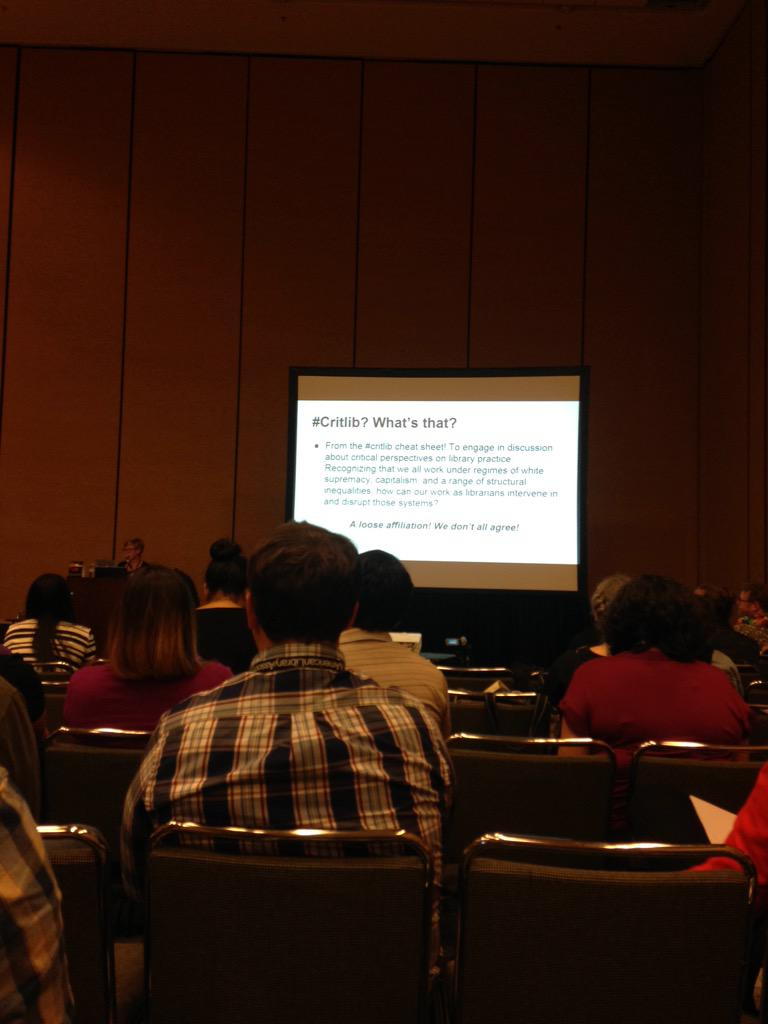At the #critlib program! #alaac15 http://t.co/sQ5C8Q80RS