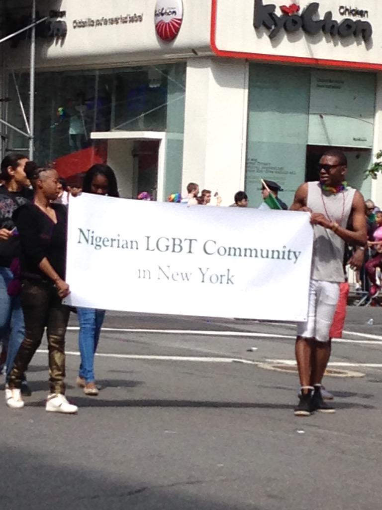 Nigerian Lesbian And Gay Community At The New York City Pride Parade [PHOTOS] 1