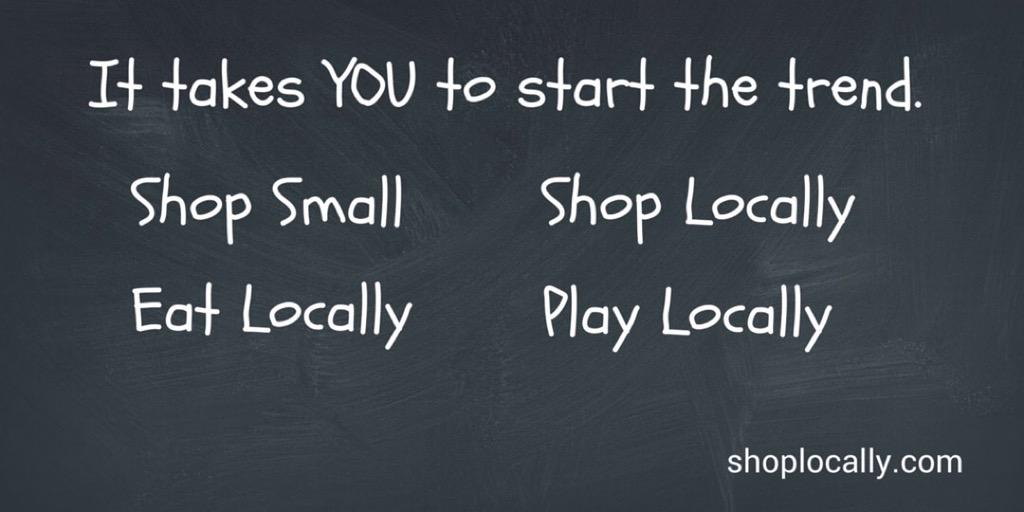 Keep your money working in your community. Support your local independent businesses. Just do it. #ShopLocally http://t.co/OM1vXR5eCZ