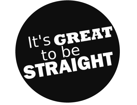 Image result for its great to be straight