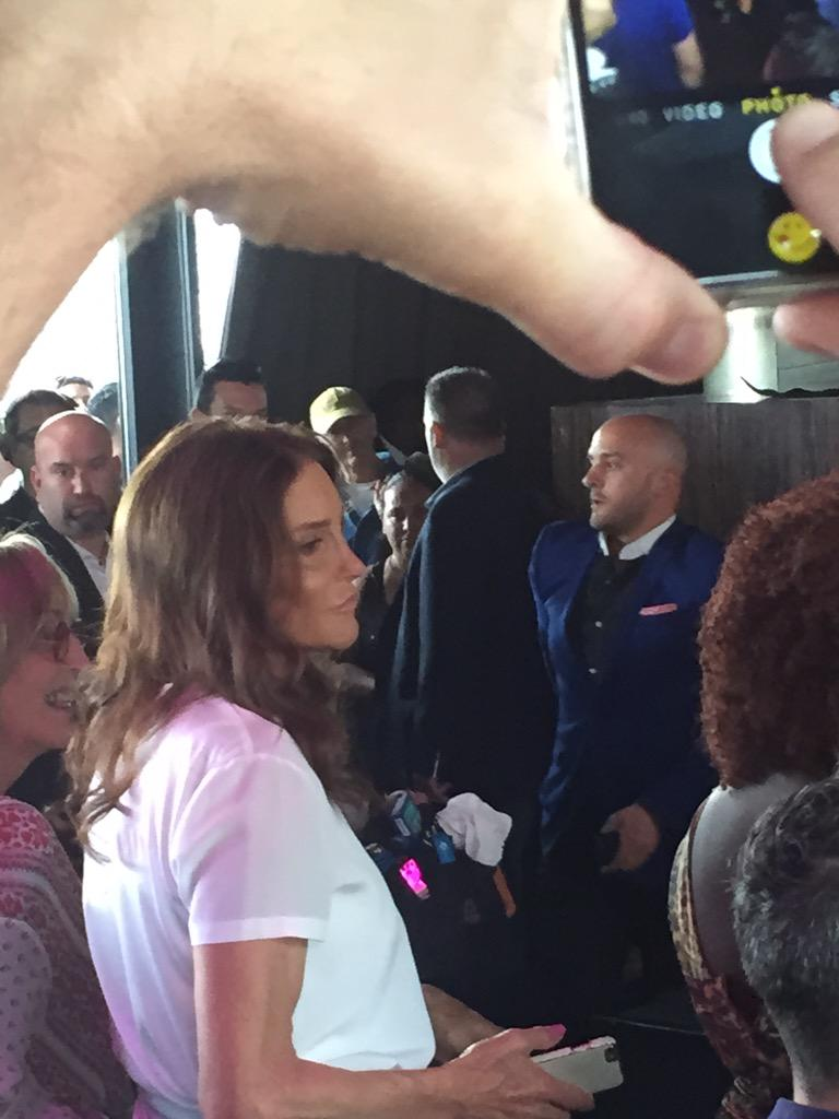 Caitlyn Jenner Appears At NYC Pride Looking Flawless