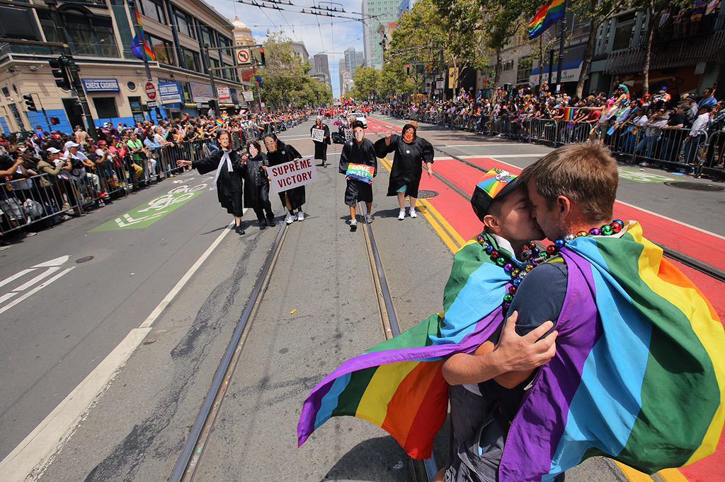 Marcus Follin Gay Parade