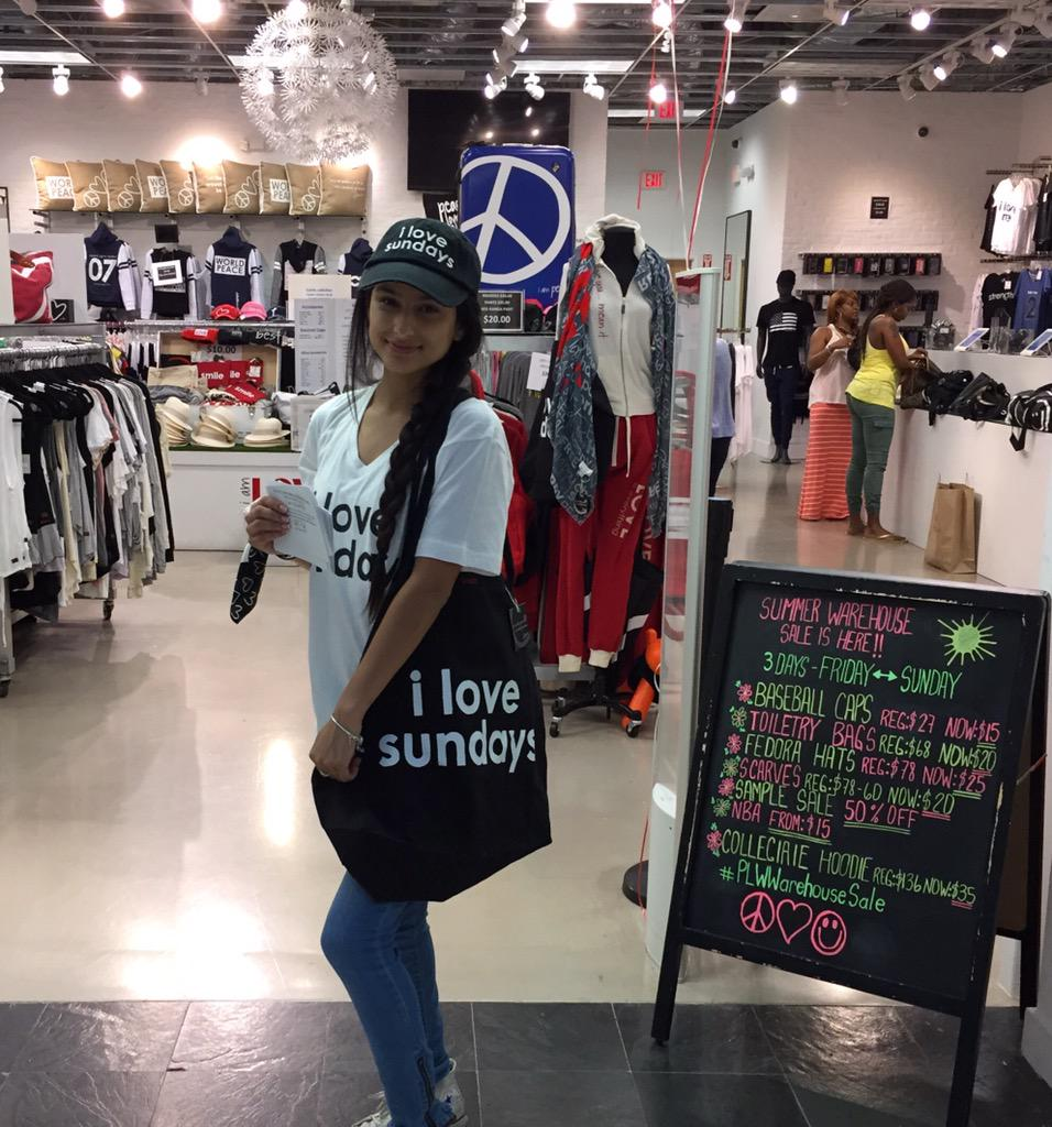 Peace Love World On Twitter Couldnt Make It To The Warehouse Sale Our Dolphin Mall Location Is Open With The Same Deals Until Pm