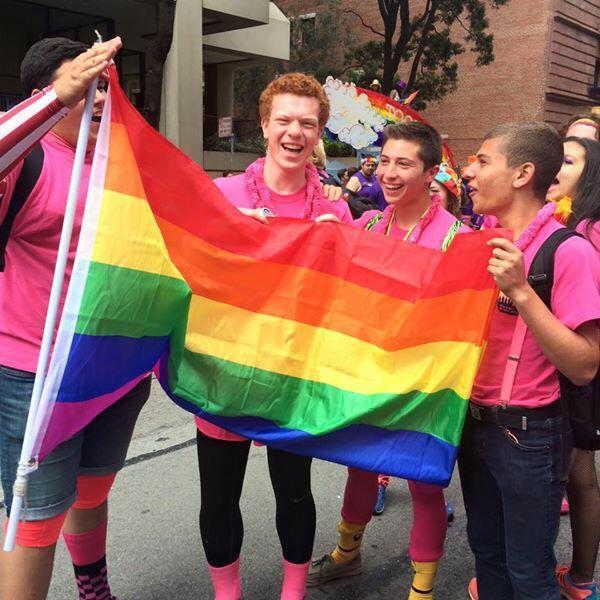 Avodah is having a great time at #SFPride2015 #LoveWins http://t.co/9itrMcyPnc