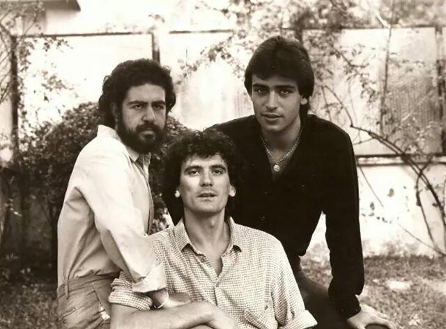 Nella Foto il trio La Smorfia con Lello Arena, Massimo Troisi e Enzo Decaro.