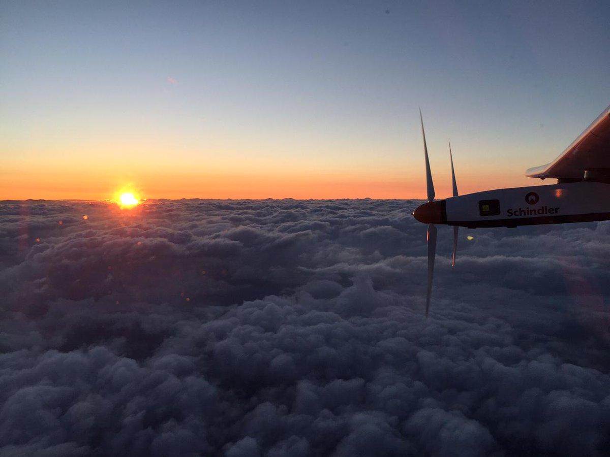 Solar Impulse 2 passes 'point of no return' on historic flight