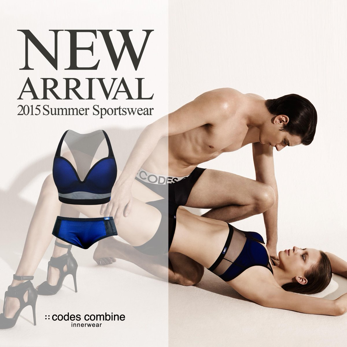 [::codescombine innerwear]코데즈컴바인이너웨어 스포츠 라인 출시~!! 스타일리시한 디자인과 기능성을 접목시켜, 스포티 하면서도 섹시한 감성의 아이템으로 매력적인 라인의 자신감 충전~!! http://t.co/cqUJlZY9hn