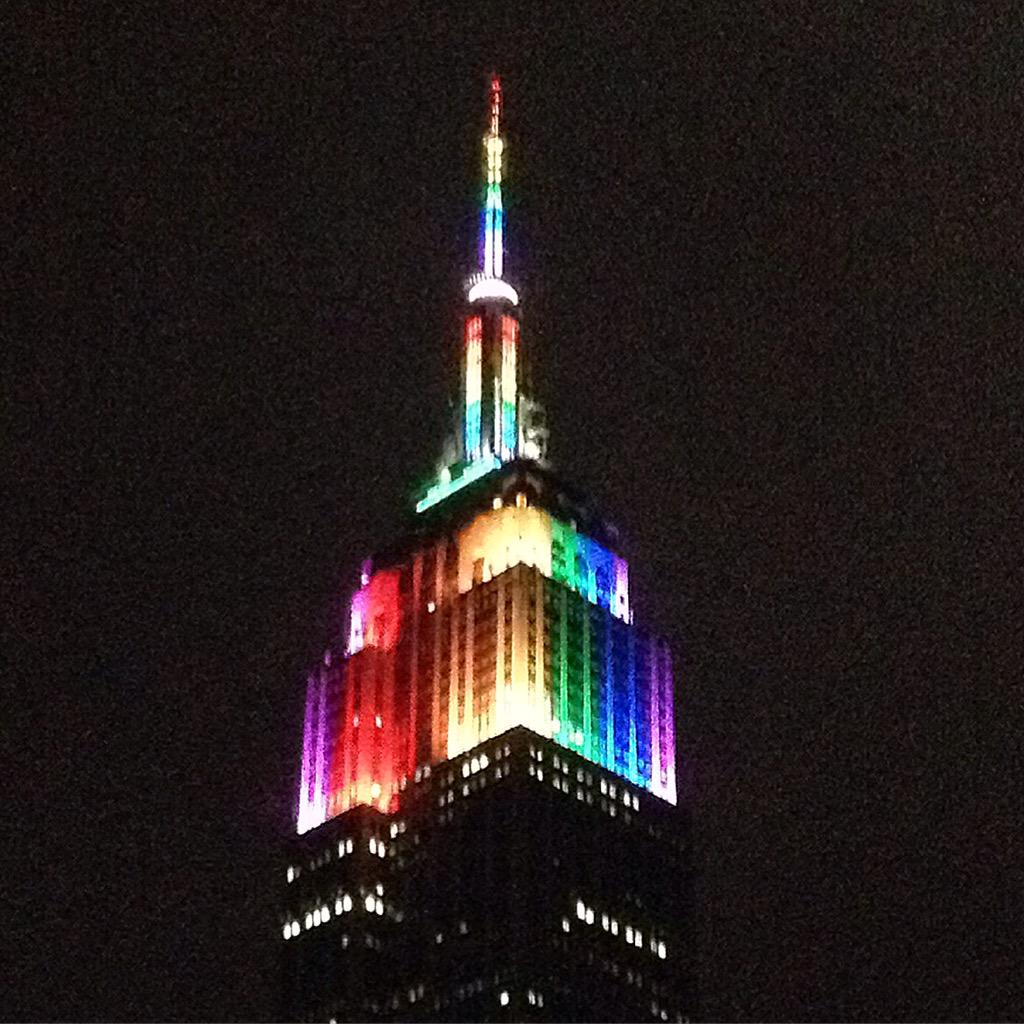 #lovewins ... another reason to ❤️ #nyc #pride