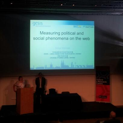 """Measuring political and social phenomena"" @mstrohm #websci15 http://t.co/JrLZN30oVt"