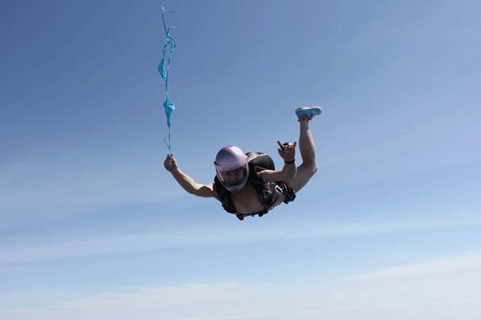 абсорбции девушки на парашюте фото это нижний