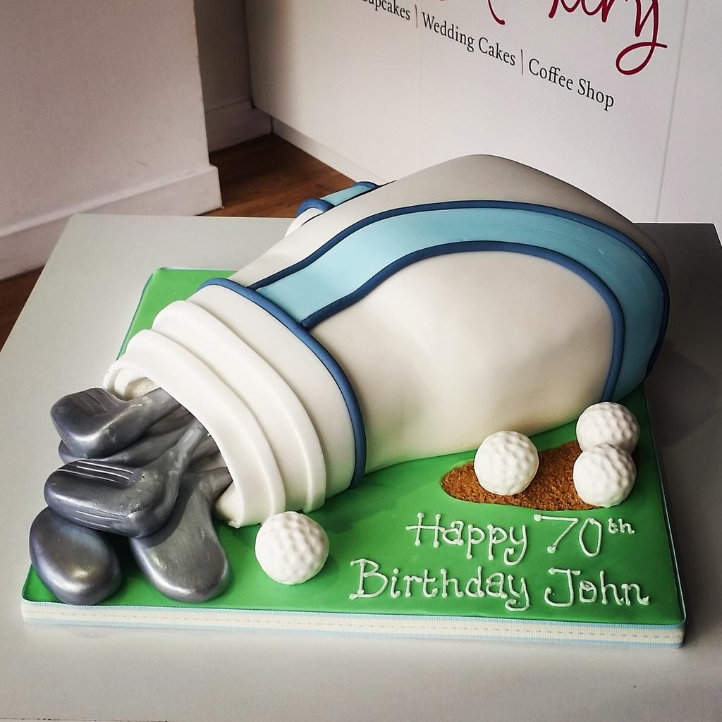 Remarkable The Crumby Bakery On Twitter Golf Themed Birthday Cake Golfcake Funny Birthday Cards Online Aeocydamsfinfo