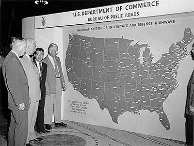 On this day in 1956, the Federal #Highway Act authorizes the construction of 42,500mi of freeway from coast to coast http://t.co/MH1ipxfLlK