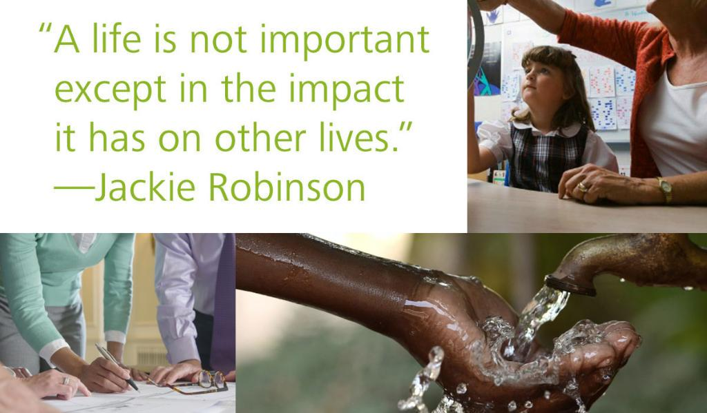 The right words can lead to great action. What quote inspires you to make an #ImpactThatMatters? #MadeAnImpactWhen http://t.co/hpGubIRfBF