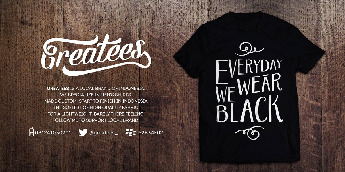 .:|Everyday We Wear Black|:. READY !!! Cp : 081241030201 Bb : 52B34F02 http://t.co/AEsHdClxNP