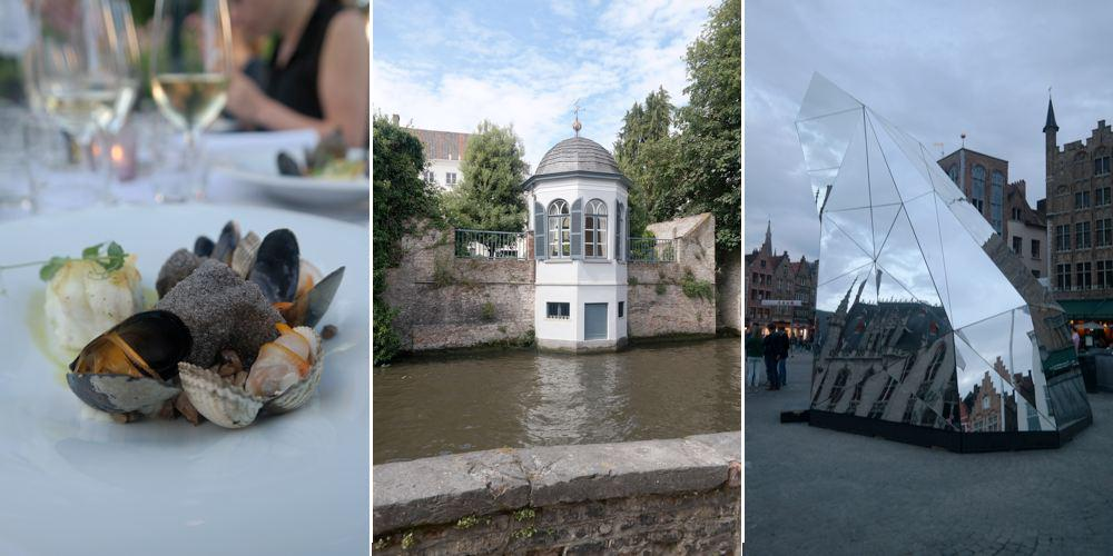 amazing food, history and art in Bruges last weekend @Visit_Bruges @VisitFlanders @TriennaleBrugge #beautiful place http://t.co/lSZSbpw17q