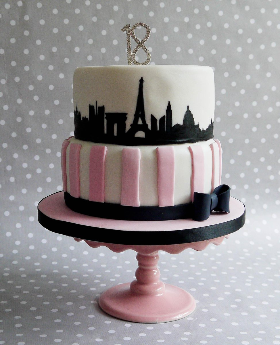 Bizzy Bees Bakery On Twitter A Special Paris Themed Birthday Cake