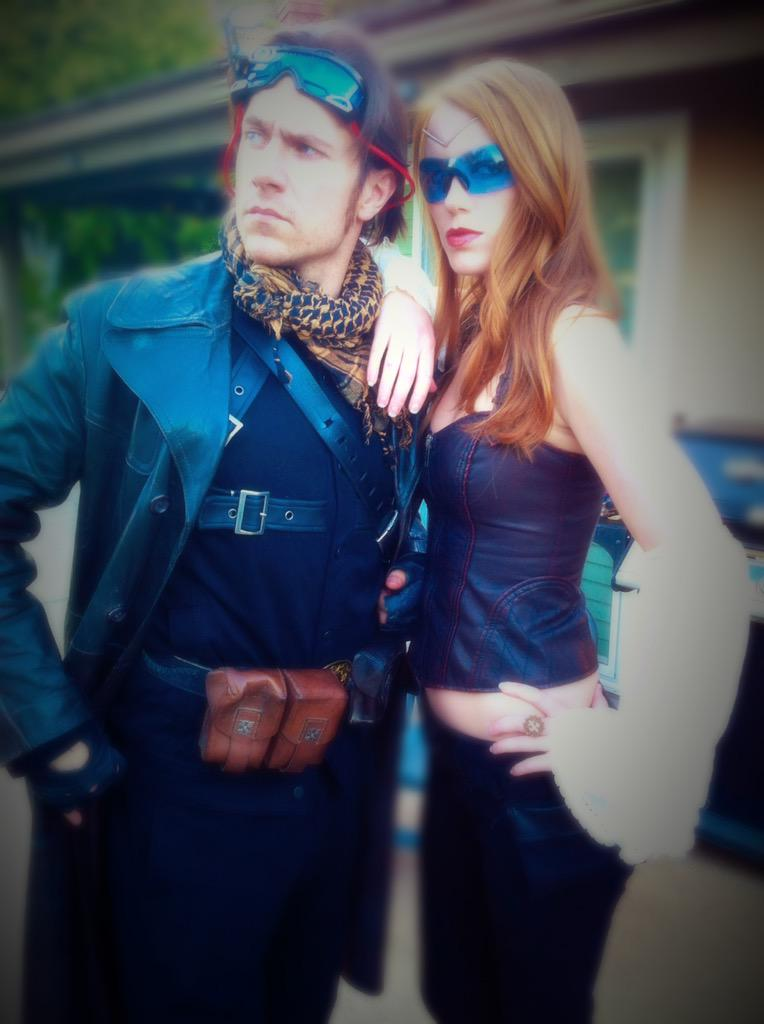 "Burning Man Photos 2017 >> Marisha Ray on Twitter: ""Happy birthday to @matthewmercer, the most genuine, & incredible man ..."