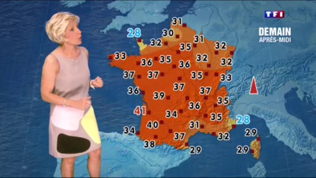 Antoine on twitter en 2014 evelyne dhelia simulait une - Meteo orleans demain ...