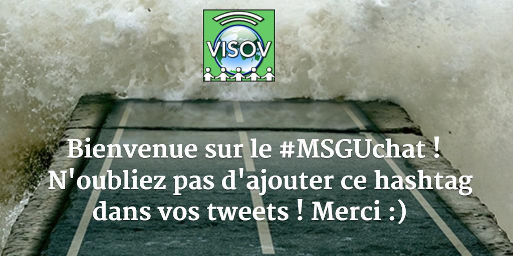 [#MSGUchat] C'est parti jusqu'à 18h ! L'équipe @VISOV1 est ravie de vs retrouver et on a qq questions pr vous ! #MSGU http://t.co/3WQl0N7cD7