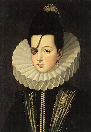 Badass Spanish aristo Ana de Mendoza, Princess of Eboli, was born OTD in 1540. She lost her eye during a swordfight. http://t.co/1d9Jz6Pe5B
