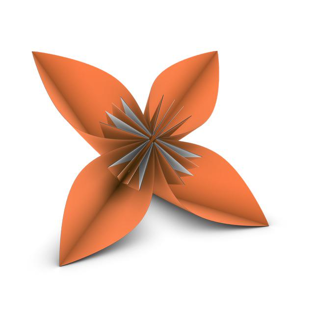 How to Make an Origami Lily Flower « Origami :: WonderHowTo | 640x640