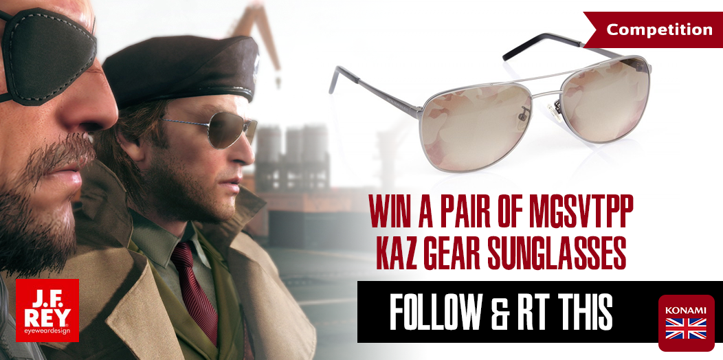 FOLLOW & RT for a chance to #WIN these #KAZGEAR Shades designed by J.F. REY! http://t.co/z0QBY39vq9 http://t.co/snqm46oSHK