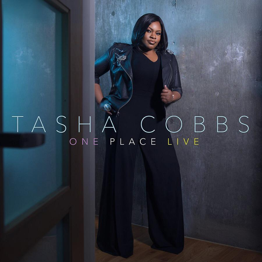 Check out the album cover for @tashacobbs' new project, ONE PLACE LIVE!