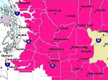 #RedFlagWarning – potential for rapid fire spread #Wenatchee #Ellensburg #Yakima #Colville #Pasco #WallaWalla http://t.co/SXhCd385Yf