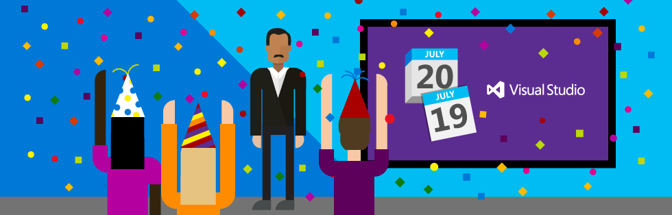#VS2015 final release will be available for download on July 20th: http://t.co/xegaVXyUk0 via @VisualStudio http://t.co/GwrfLhNI8O