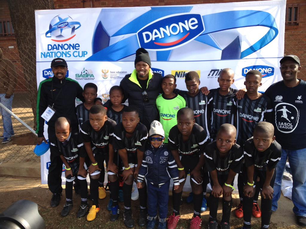 Bernard Parker On Twitter With The Lads From Danone Nations Cup Held This Passed Weekend In My Hometown Reiger Park Danonenationcup