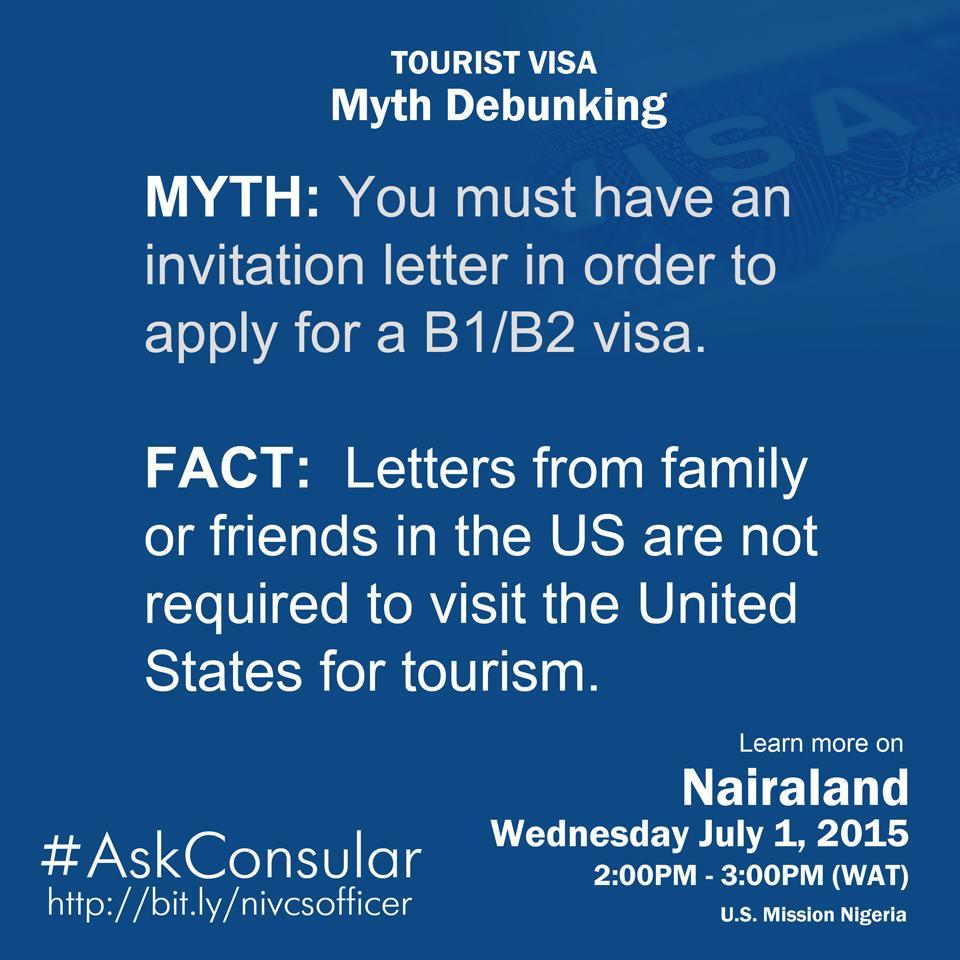 Us mission nigeria on twitter tourist visa myth debunked learn 1131 am 29 jun 2015 stopboris Images