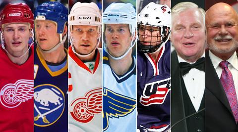 2015 HHOF Inductees Announced! -  Congratulations to Fedorov, Housley, Lidstrom, Pronger, Ruggiero, Hay & Karmanos. http://t.co/ByClz0n9da