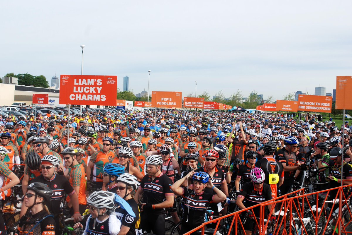 Together we r #StrongerThanMS TY #BikeMS #CapeCodGetaway riders, volunteers & presenting sponsor @GenzymeCorp http://t.co/BhF33sZCp4