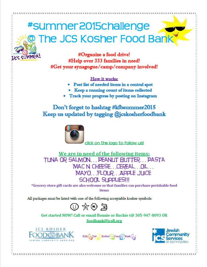 Jcs Kosher Food Bank Jcskfb Twitter