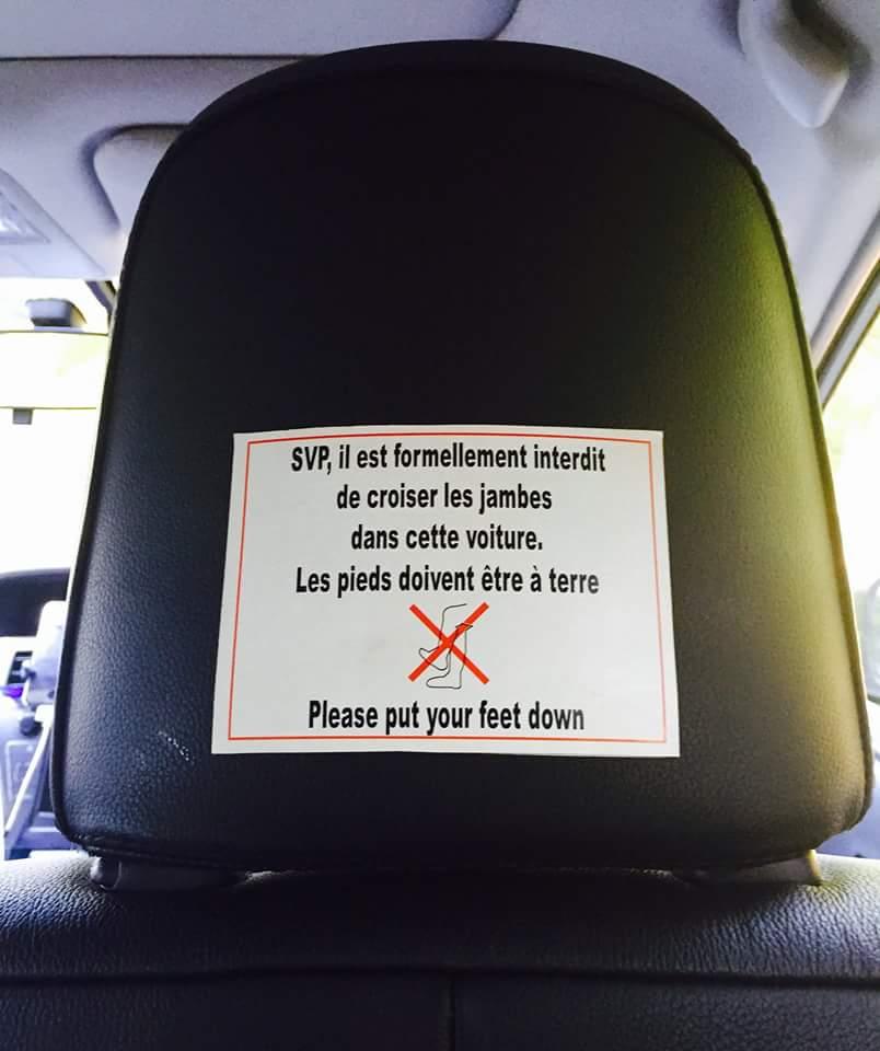 Arrêtez de critiquer ! C'est super de voyager en #taxi. Pour 5€ de plus il peut même t'insulter en allemand.
