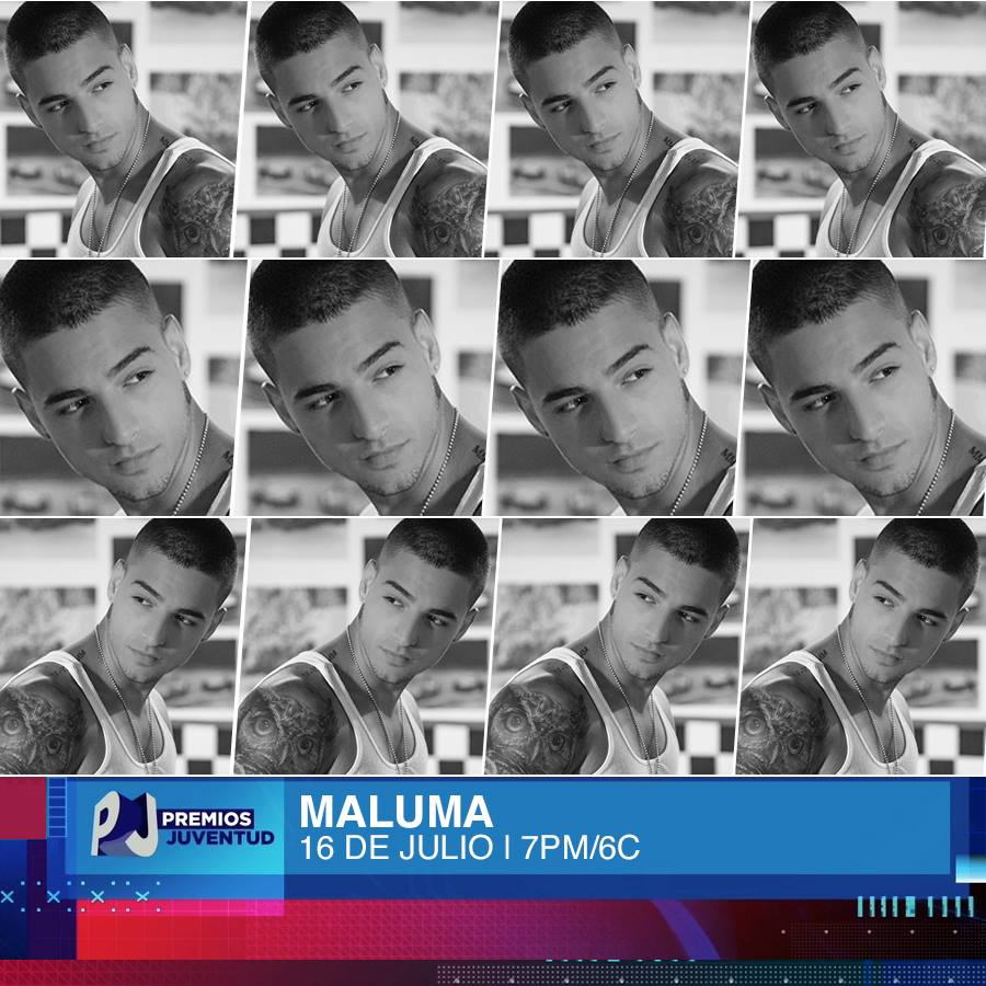 Maluma  - Magazine cover