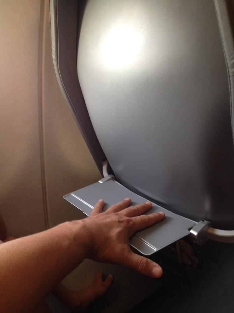 Jon Caldara on Twitter  New plastic non-reclining #FrontierAirlines seats without TV but with midget tray! RT if you USED to love #Frontier ... & Jon Caldara on Twitter: