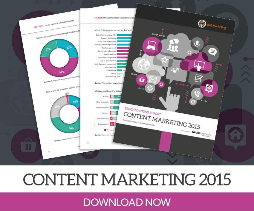 New Benchmarking Report reveals the key content challenges & opportunities in B2B http://t.co/zCPKwmjFCU #B2BContent http://t.co/G6xNckVf3L