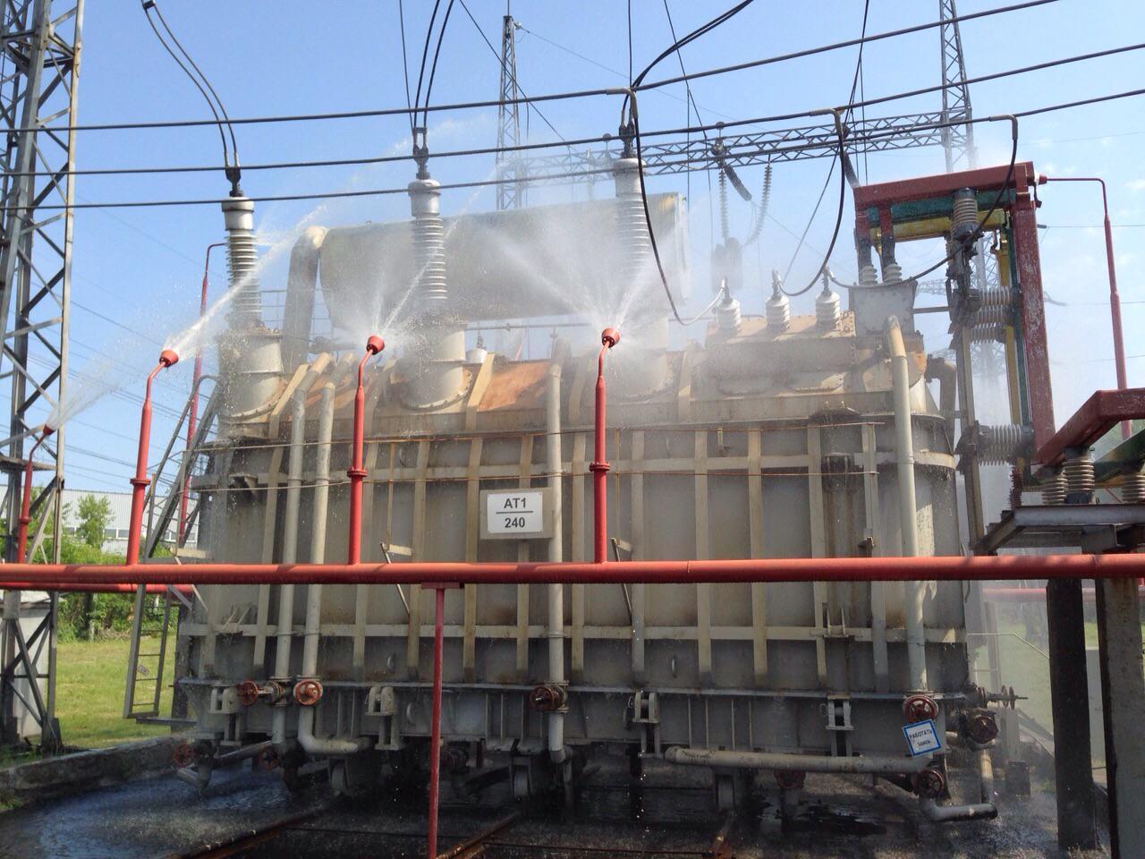дренчерные системы пожаротушения фото такие