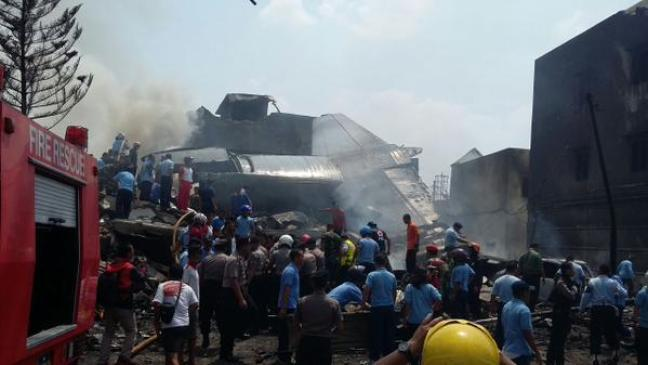 Incidente aereo in Indonesia