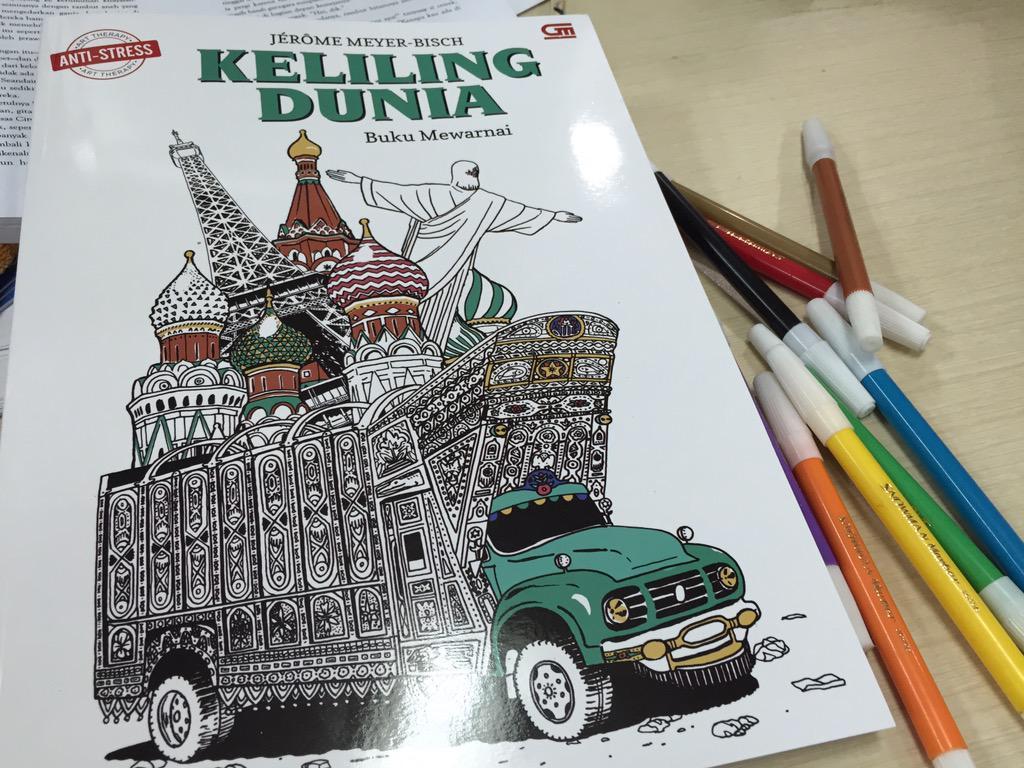 Dini P On Twitter Buku Mewarnai Art Therapy Keliling Dunia Gramedia 128 Hal 9 Juli Rp112 Rb Tco In4dWASEgt